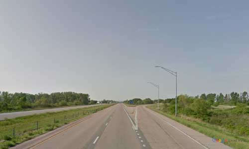 ia interstate 29 iowa i29 pacific junction rest area mile marker 38 southbound off ramp exit
