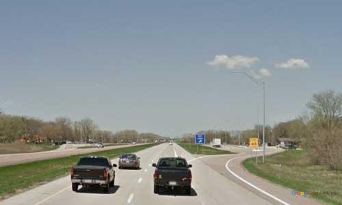 ia interstate 29 iowa i29 sergeant bluff rest area mile marker 139 northbound off ramp exit