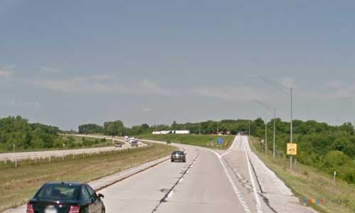 ia interstate 35 iowa i35 story city rest area mile marker 120 northbound off ramp exit