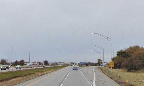 ia interstate 380 iowa i380 cedar rapids rest area mile marker 13 northbound off ramp exit