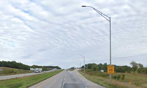 ia interstate 80 iowa i80 grinnell rest area mile marker 180 eastbound off ramp exit